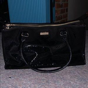 Kate Spade black, leather purse